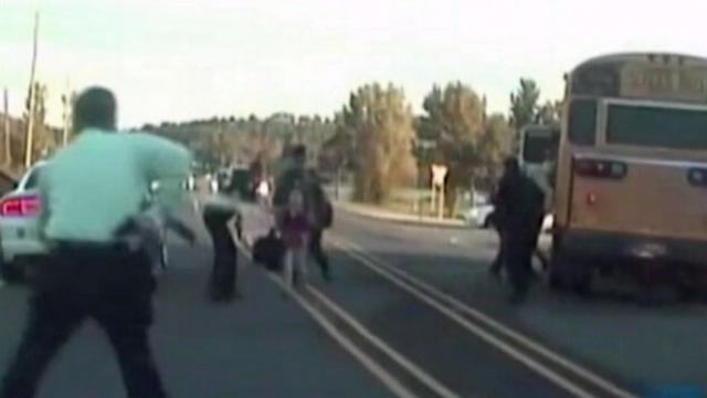 Dramatic New Video of Arkansas School Bus Hijacking Released