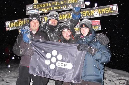 CCP Games conquers Mount Kilimanjaro, one step closer to world domination