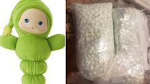 Family makes chilling discovery inside child's second-hand toy