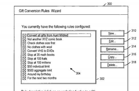 It's the thought that counts, but just in case, Amazon patents gift conversion system
