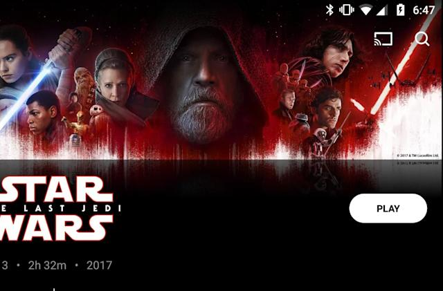 Movies Anywhere link unlocks a score-only 'The Last Jedi' extra