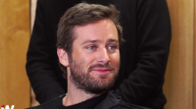 Armie Hammer on Green Lantern Report: 'First I've Heard of It' (Video)