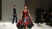Alexander McQueen für Plus-Size-Models auf dem Laufsteg gefeiert