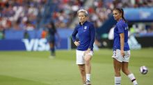 USWNT leaves France, President Trump spat behind to shift focus to England