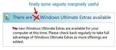 "Microsoft finally releases new Vista Ultimate Extras, still ""ultimate"" in name only"