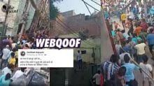 Mob Beating Up Men in Jahangirpuri Falsely Linked to Loni Assault