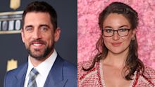 Aaron Rodgers says Shailene Woodley engagement is 'the best thing that's happened to me in the last year'
