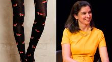 The Internet Is Going Crazy Over Fox-Themed Tights Worn By 'Vanity Fair' Editor-in-Chief Radhika Jones
