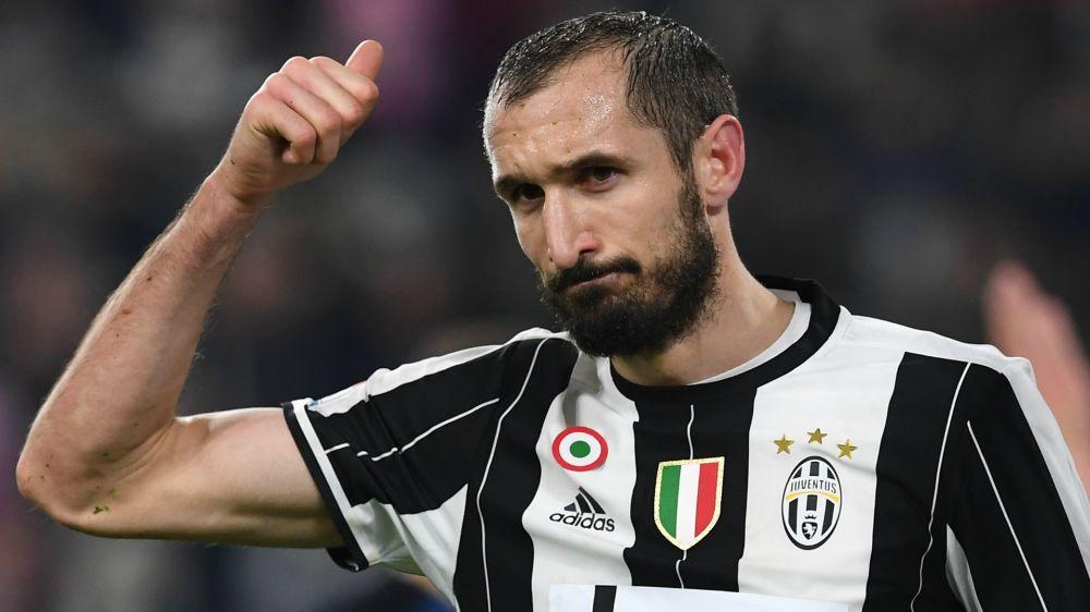 Chiellini nella storia: 300 presenze in Serie A con la Juventus