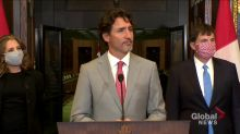 Trudeau says they've released WE Charity documents for review, don't want election