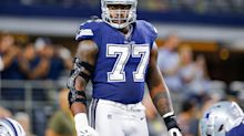 Report: Tyron Smith could shut it down for season after neck setback