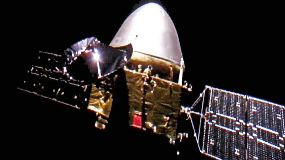 China Mars mission: Tianwen-1 spacecraft enters into orbit - Yahoo! Voices