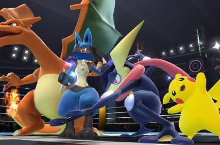 Greninja, Charizard fight it out in new Super Smash Bros. screens