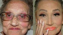 """""""Glam-ma"""" Livia, la nonna 80enne appassionata di contouring diventa l'idolo del Web"""