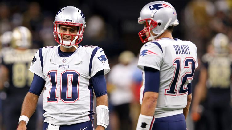 Jimmy Garoppolo reveals the most important lesson Tom Brady taught him