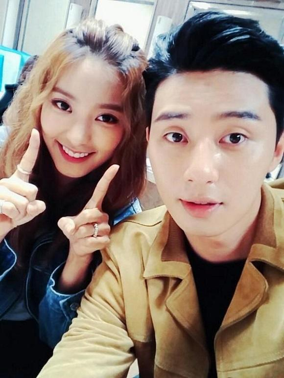 Bora Drops A New Selfie Taken With Park Seo Jun