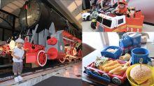 【親子酒店】火車主題兒童樂園!$350自助晚餐:任食沖繩海鹽玄米茶雪糕