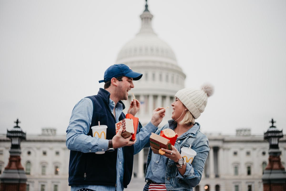 Couple has American Dream Holiday Card Shoot [Video]