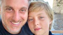 Após acidente, filho de Luciano Huck e Angélica tem alta de hospital