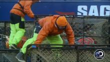 'Deadliest Catch' deckhand injured in scary fall from stack of pots
