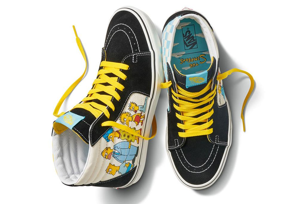 Vans The Simpsons Announce A New Collaboration 13 Years After Their First