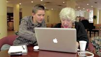 Want to See Someone Teach a Grandmother to Use Facebook?
