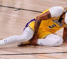 Anthony Davis listed as questionable for Game 5 with sprained ankle