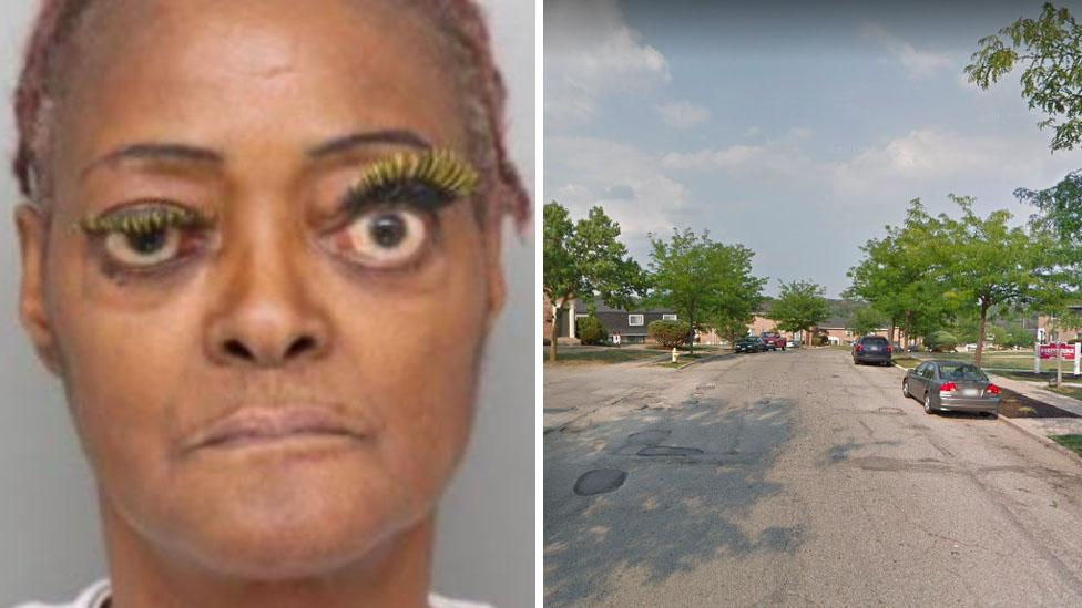 Woman 'poured hot grease on victim' during heated argument