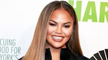 Chrissy Teigen posted a naked pregnancy selfie for Mother's Day and people are freaking out: 'You're better than this'