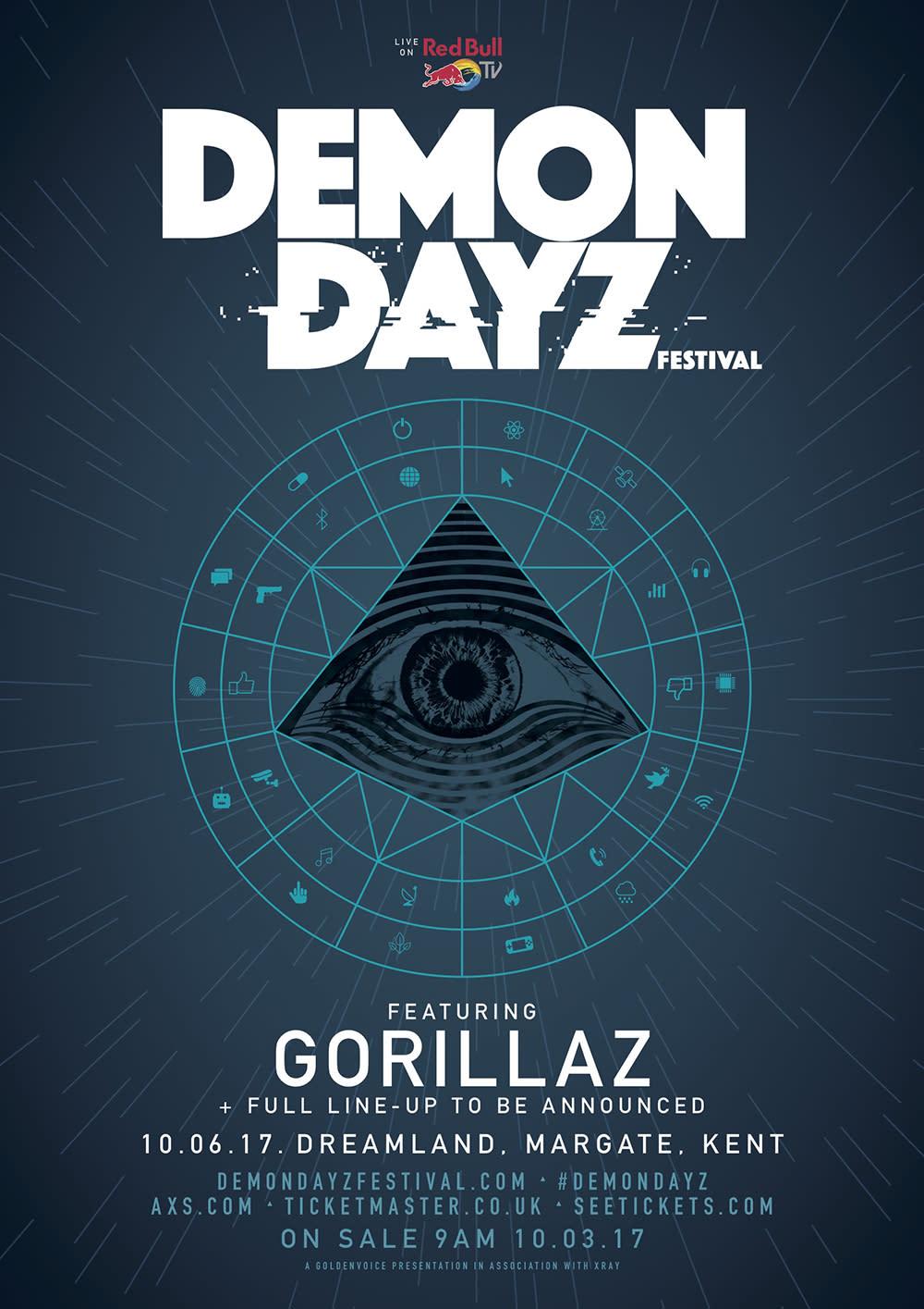 Demon Dayz Festival 2020.Gorillaz Book Restored Theme Park For Demon Dayz Festival