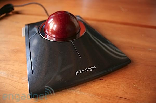 Kensington SlimBlade Trackball hands-on