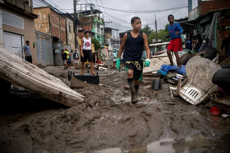 Floods wreaked havoc in Brazil, 21 dead, many missing