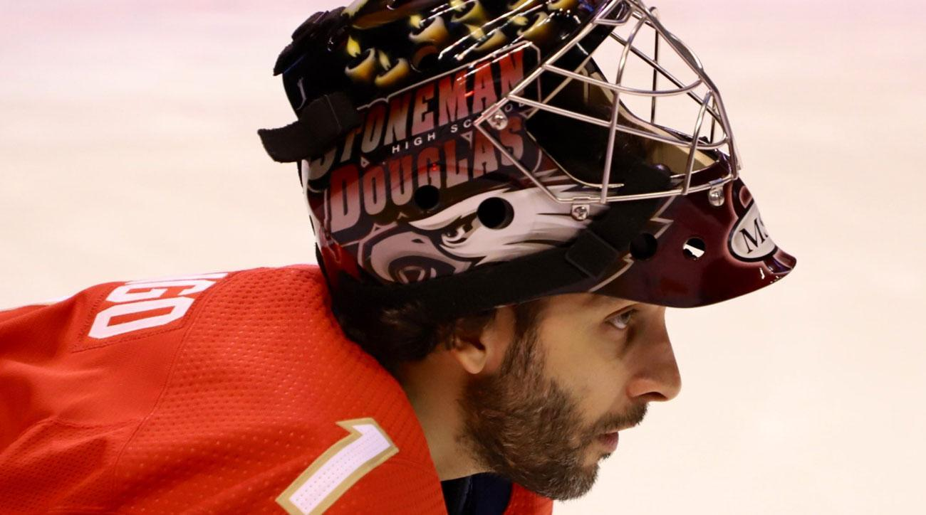 Florida Panthers Roberto Luongo Honor Lives Lost In Parkland