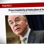 Health Secretary Tom Price is under investigation for dozens of trips on private planes