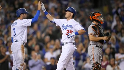 Dodgers continue NL West dominance with fifth straight division title