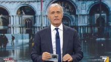"""Giletti contro tutti: """"Italia incapace di governarsi"""""""