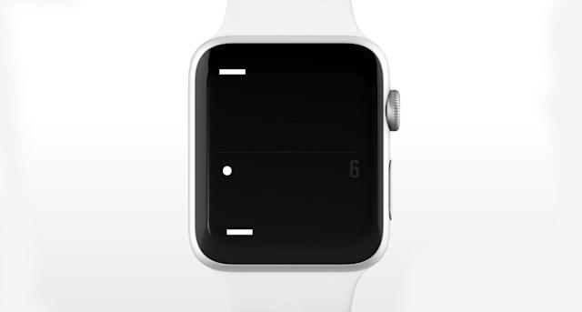 'Pong' comes to the Apple Watch