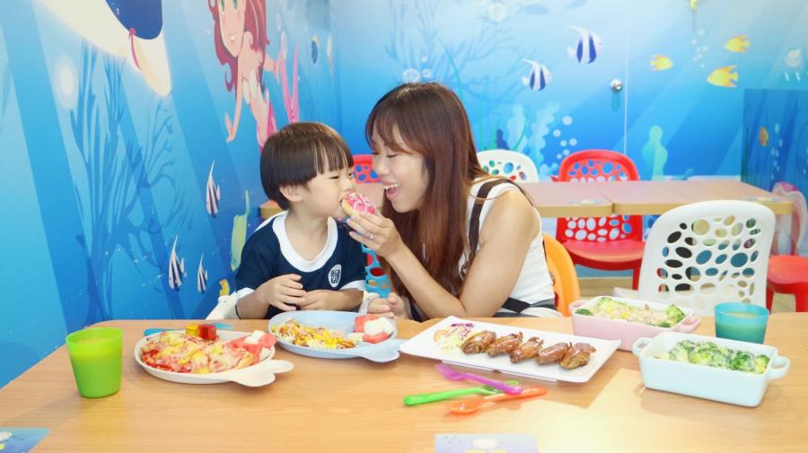 【親子餐廳】新蒲崗Play House!海洋世界中尋找美味