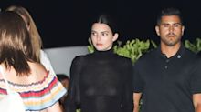 Kendall Jenner Went Braless in a Sheer Turtleneck