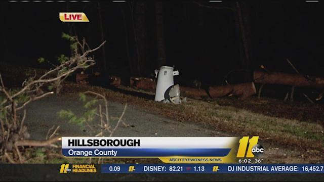 Parts of Triangle still paralyzed by weather damage