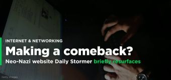 Neo-nazi website Daily Stormer briefly resurfaces with Russian domain