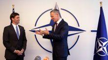 El nuevo jefe del Pentágono dice en la OTAN que EEUU mantiene sus compromisos