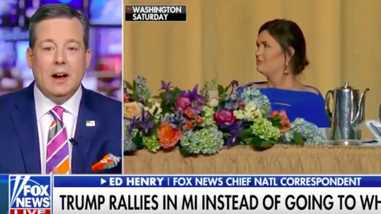 Fox News Reporter: Sarah Huckabee Sanders Deserves Apology After Press Dinner