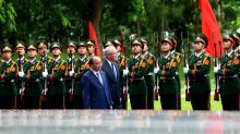 PM Morrison's taste of old and new Vietnam