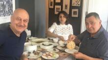 Rishi Gets a Taste of Homemade Phulkas at Anupam's NYC Apartment