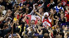 Raptors fans take over Oracle Arena throughout Game 4 victory