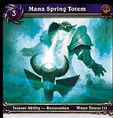 Blessing of Wisdom and Mana Stream totem go exclusive