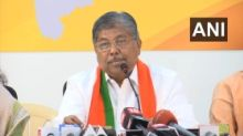 State BJP chief Chandrakant Patil does U-turn