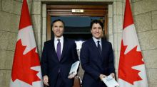 Canada posts small budget surplus in first nine months of 2018/19