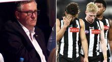 Collingwood sink to 60-year low in 'embarrassing' AFL finals loss